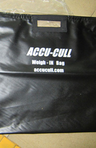 Accu-Cull Weigh-IN Bag